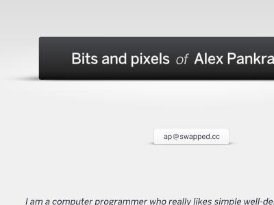 Bits and pixels