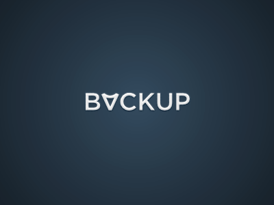 Logo for a file backup proggy bvckup logo