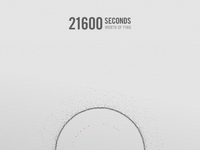 21600 seconds embossed