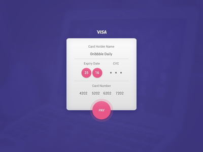 Daily UI #002 - Checkout user photoshop challenge minimal clean simple interface ux ui form card checkout