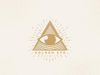 Golden Eye practice graphic shape symbol logo mark triangle