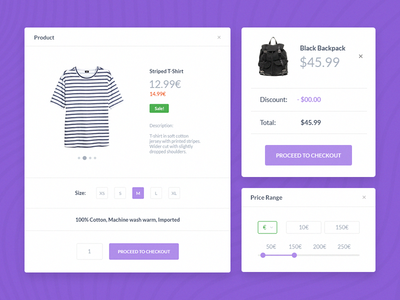 Shop Forms minimal simple online buy shop e-commerce clean web interface ui forms