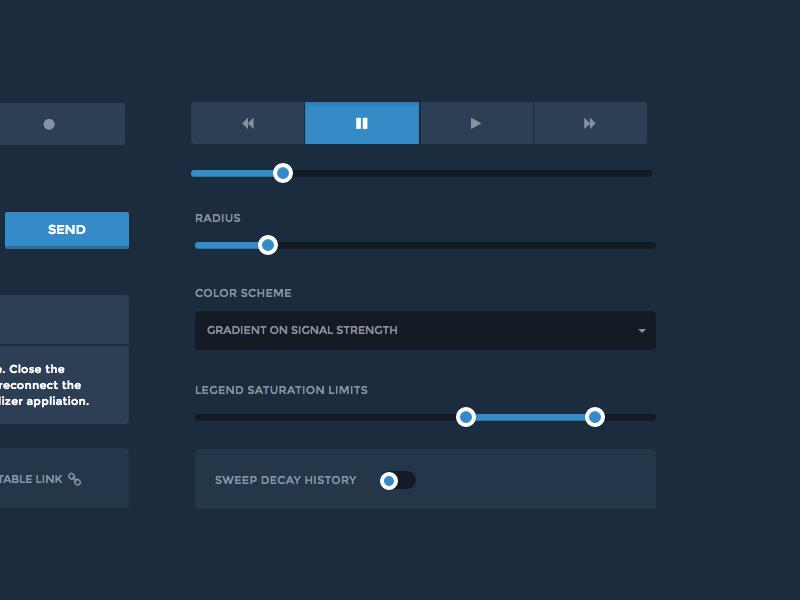 Scanse Visualizer Desktop Application - UI by Steve Krueger for The