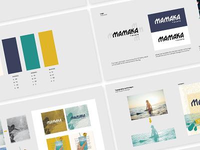 Mamaka hotel branding branding design