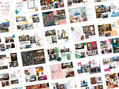 Ovolo Gallery Book design booklet book booklet design