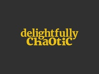 Delightfully Chaotic Logo
