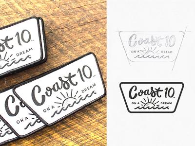 Coast 10 Clothing Logo Patch