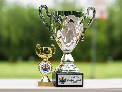 High Bridge Charity Basketball Game Trophies