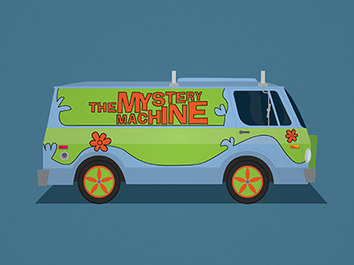 Mystery Machine mystery machine scooby-doo iconic cars movie wildish