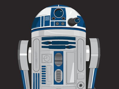 R2d2 r2d2 starwars star wars robot wildish
