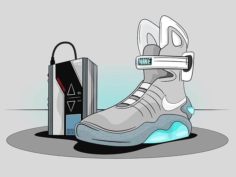 e2d2a61ef00f Nike Air Mag by David Wildish