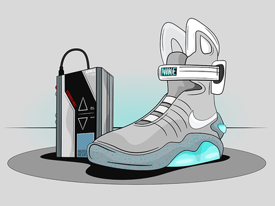 Nike Air Mag affinity nike air mag wildish back to the future walkman mcfly 1985 2014