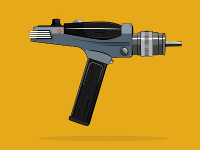 Phaser affinity ray gun laser star trek phaser