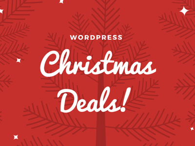 Best WordPress Christmas and New Year Deals 2019-2020 minimal discount banner blog banner holiday wordpress sale deal new year christmas