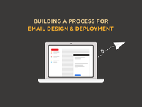 Building a process for email design & deployment