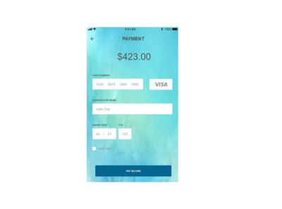 Daily UI #2 - Payment