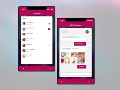 Daily UI #13 - Direct Messaging
