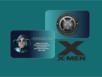 Dribble Weekly Warm Up - Superhero Business Card