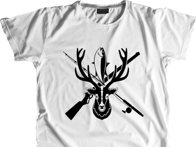 Download Hunting Svg Fishing Svg Hunting And Fishing Decals Shirt By Rabiul Islam On Dribbble