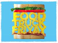 Food Truck Friyay Poster