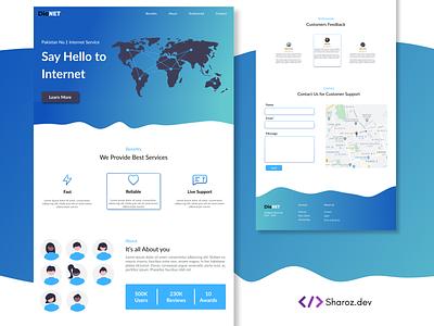 DioNet web web design and development uidesign ui design web design