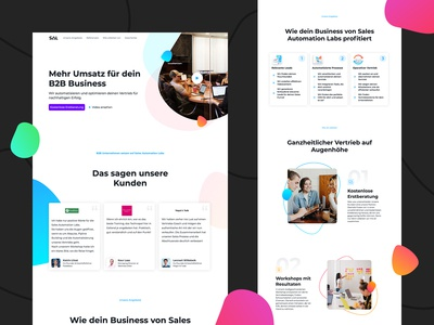 Sales Automations Lab Webseite