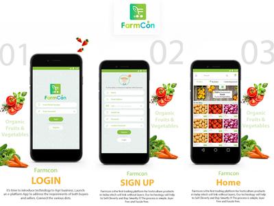 Farmcon App Design