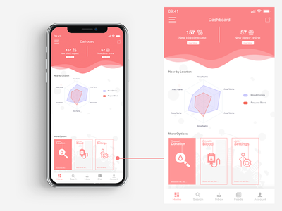 Blood Donor app design application app free adobe xd blood donor blood donor app donation blood ux app uxui ux design