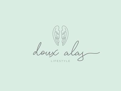 doux alas || full logo