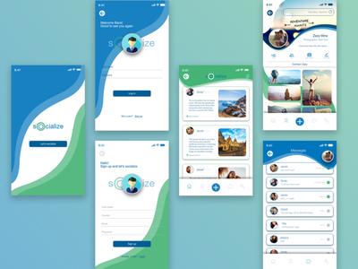 Socialize - social media app