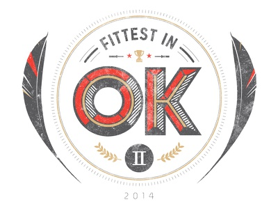 Fittest in OK II oklahoma crossfit amy fuller cassidy flint flintinc flint.io hand-drawn okc feather sport