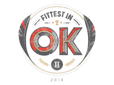 Fittest in OK II • post-revision okc hand-drawn flint.io feather flintinc flint cassidy fuller amy crossfit fittest oklahoma