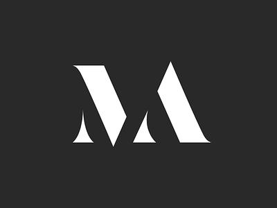 Logo Design for Marili André logo fashion contrast