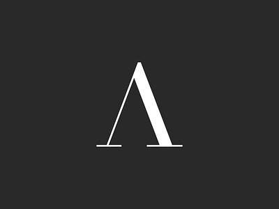 Logo Design for Ana Barreira logo fashion contrast