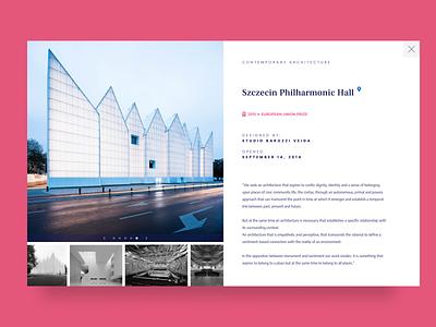 #045  Info Card serif font web design webdesigns webdesigner info webdesign design ui