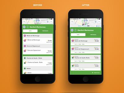 City mapper UX redesign public transport metro planing app redesign transport app transport app ux redesign app design product design ui