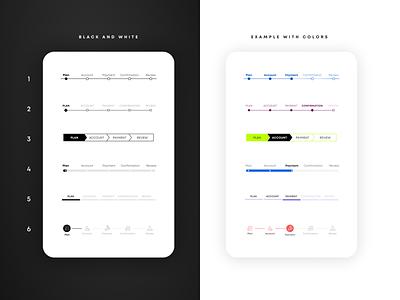 Progress bar app design checkout progressbar ux design app ui product design