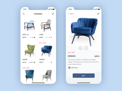 In Stock furniture website explore product page app online store e-commerce app furniture app app design uxdesign mobile ux design web design ui product design
