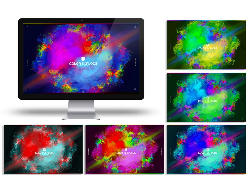 Color Explode Abstract PSD Artwork background design editable wallpaper wallpaper backgrounds itunes spotify cover soundcloud photoshop templates background art music festival holi abstract art holi festival illustration art graphic design photoshop template colors