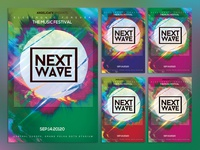 Next Wave Photoshop Flyer Template