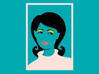Girl / Gig poster / WIP
