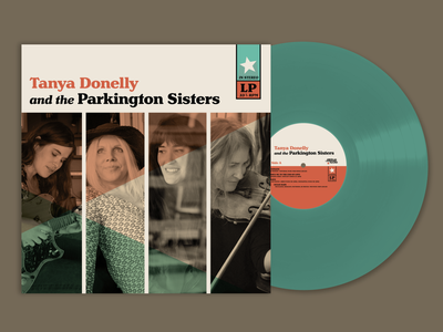 Tanya Donelly and the Parkington Sisters Album Design music graphicdesign album cover design album cover album art album artwork vinyl record design