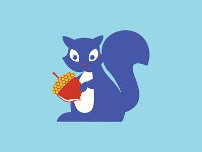 squirrel animals squirrel vector illustration design