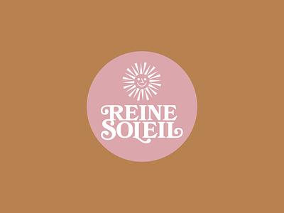 Logo for a skincare company branding typography logo vector illustration design