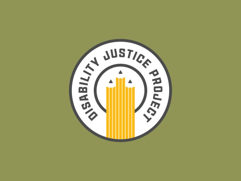 Disability Justice Project Logo branding logo design illustration