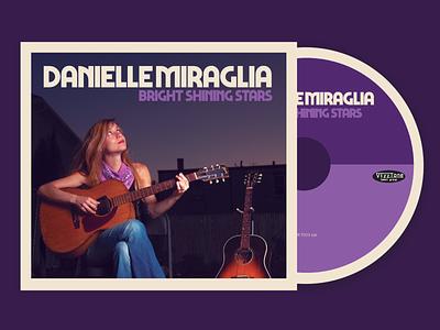 Danielle Miraglia CD packaging photography music cd design cd packaging graphicdesign album artwork design