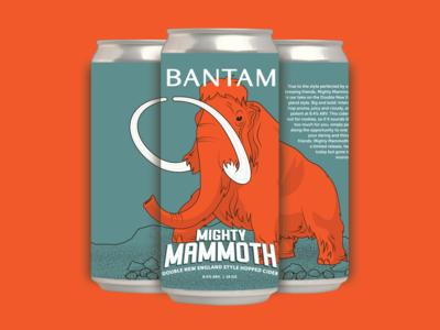 Bantam Cider //  Label Design