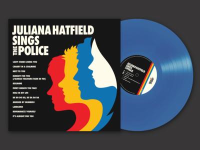 Juliana Hatfield Sings The Police // Album artwork