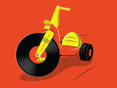 Big Wheel / Vinyl Record WIP