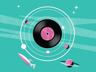 space vinyl / poster WIP